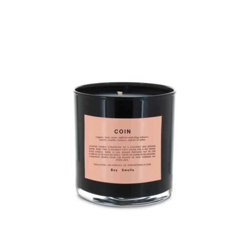 Coin Scented Candle by Boy Smells