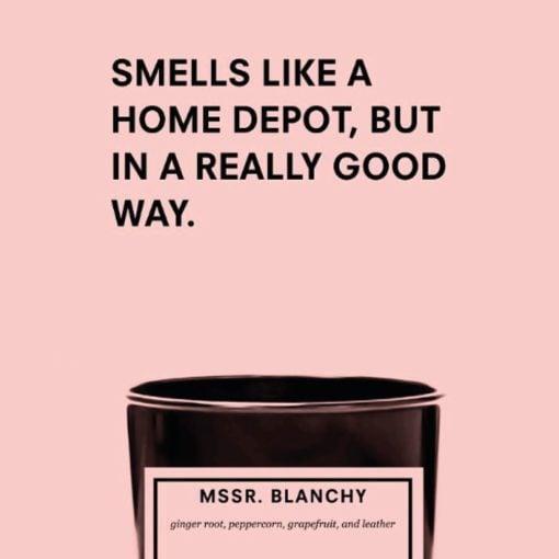 Mssr. Blanchy Candle by Boy Smells