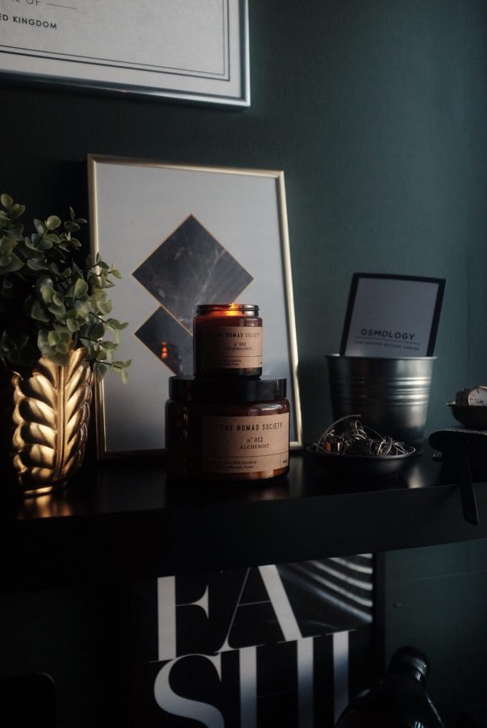 Alchemist Candle and Daydreamer Candle by The Nomad Society   Available on Osmology.co