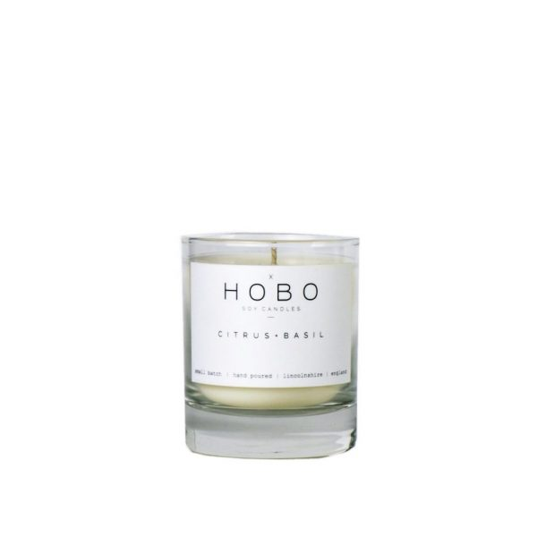 Citrus & Basil Candle by Hobo Soy Candles