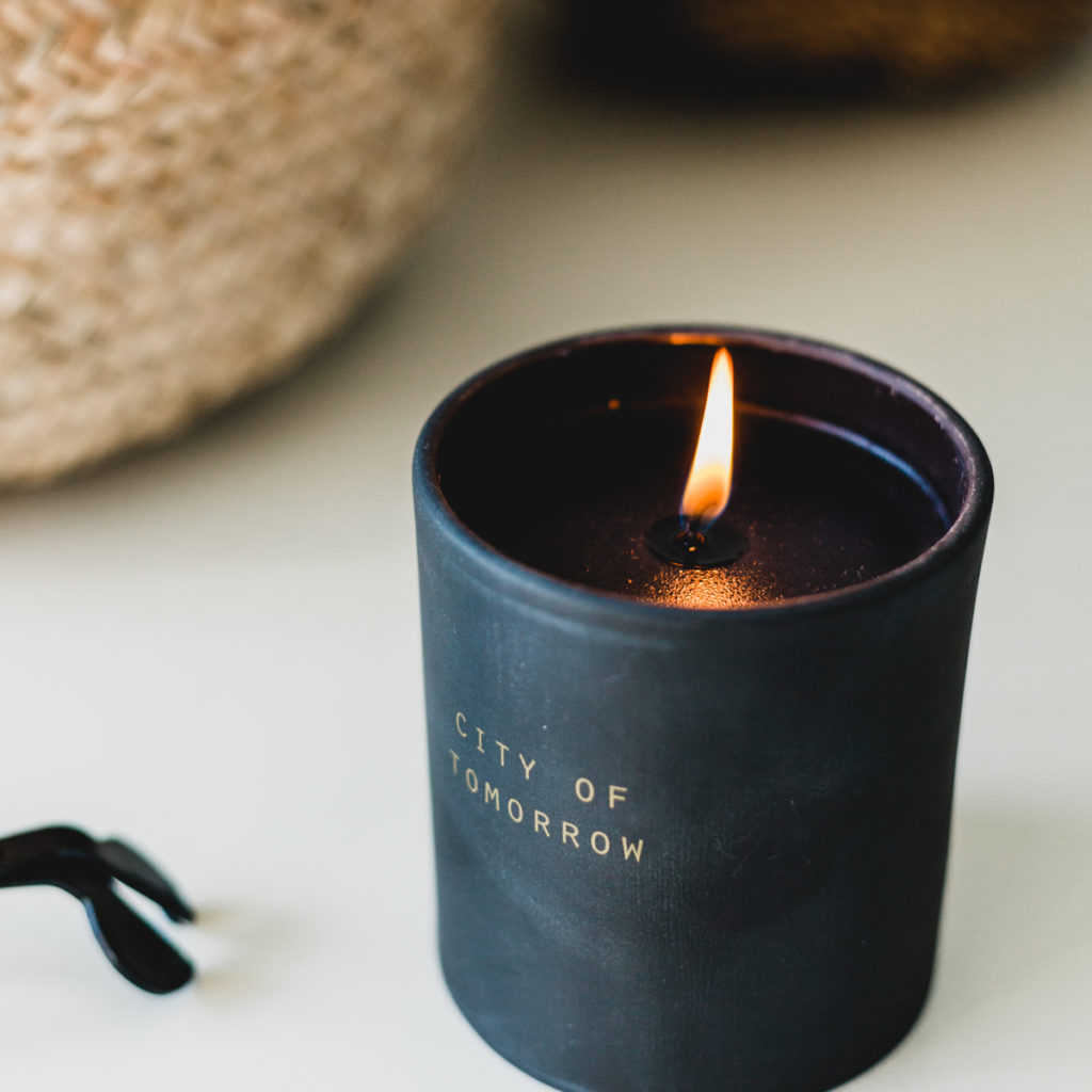 City of Tomorrow Candle by The School of Life