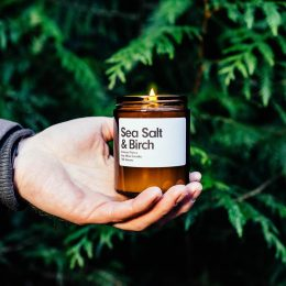 Sea Salt & Birch Candle by Samuel Parris