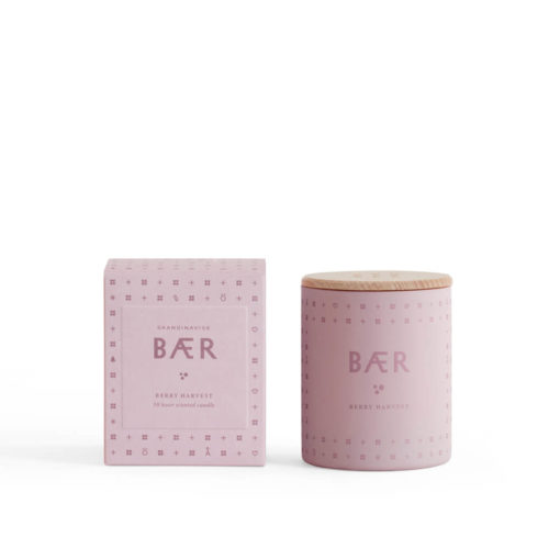 BÆR (Berry) Scented Candle by Skandinavisk
