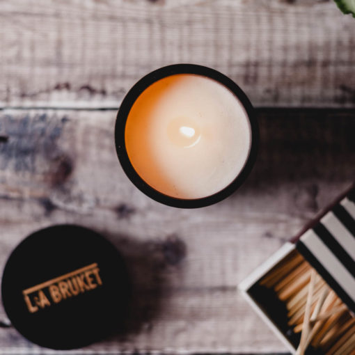 Black Oak Scented Candle by L:A Bruket