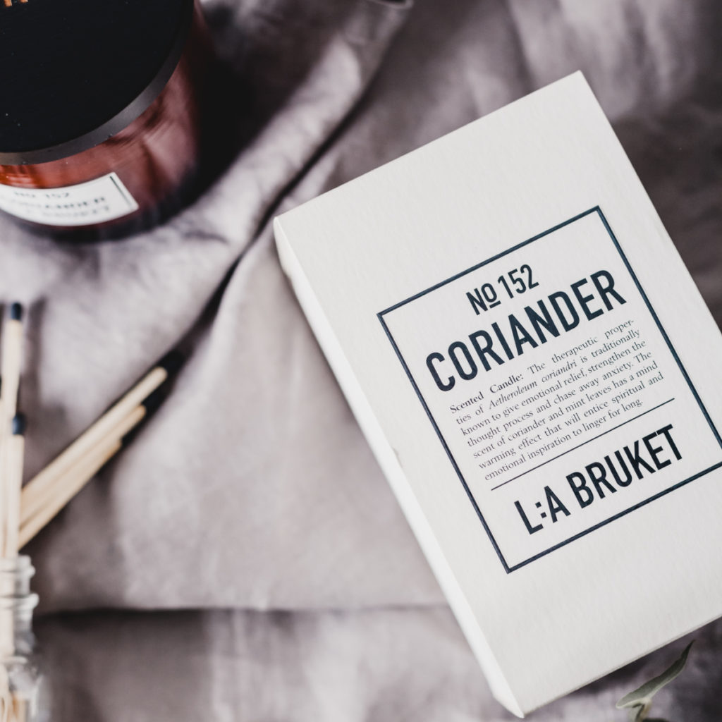 Coriander Candle by L:A Bruket