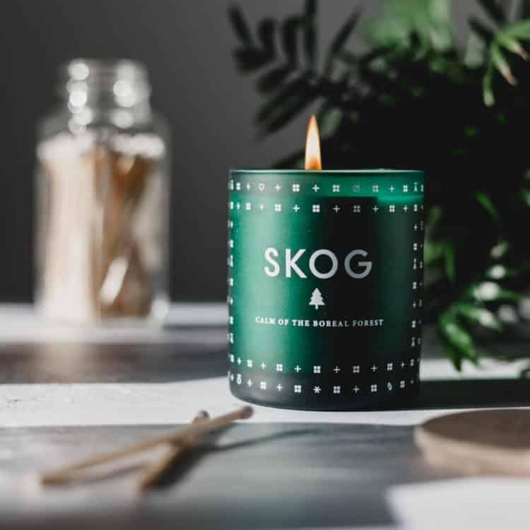 SKOG (Forest) Scented Candle by Skandinavisk