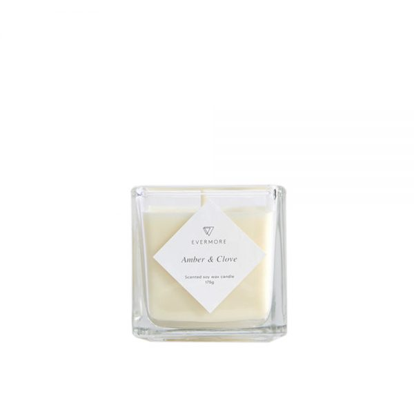 Amber & Clove Candle by Evermore
