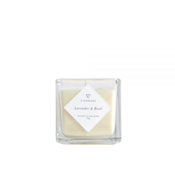 Lavender & Basil Candle by Evermore