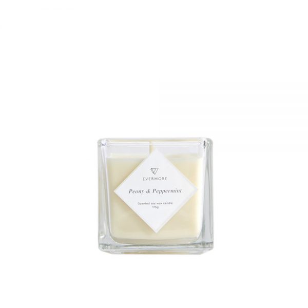 Peony & Peppermint Candle by Evermore