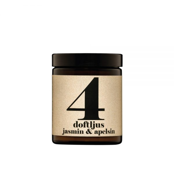 No. 4 Jasmine & Orange Scented Candle by Terrible Twins