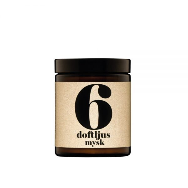 No. 6 Musk Scented Candle by Terrible Twins