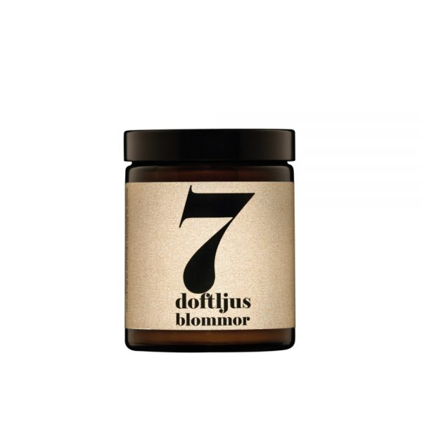 No. 7 Flowers Scented Candle by Terrible Twins