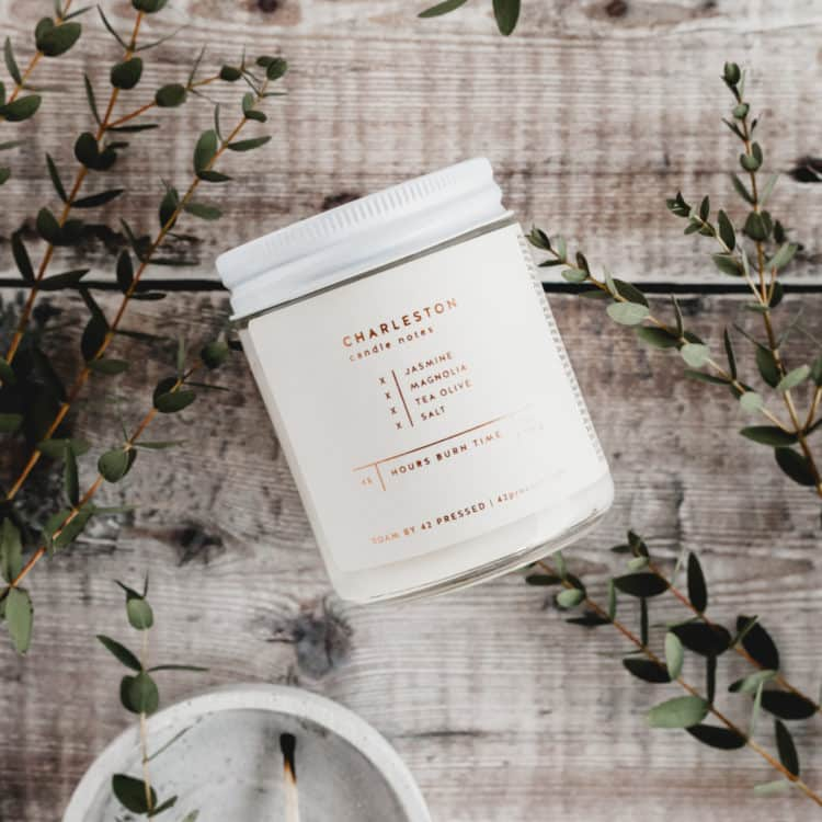 Charleston Scented Candle by ROAM by 42 Pressed
