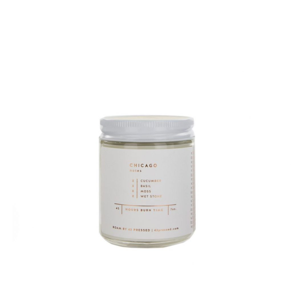 Chicago Candle by ROAM by 42 Pressed