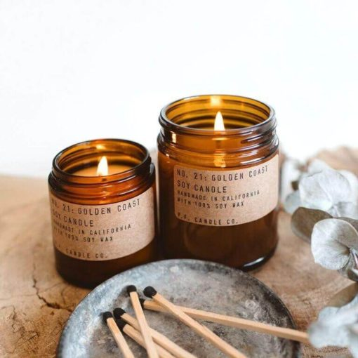 No.21 Golden Coast Scented Candle by P.F. Candle Co