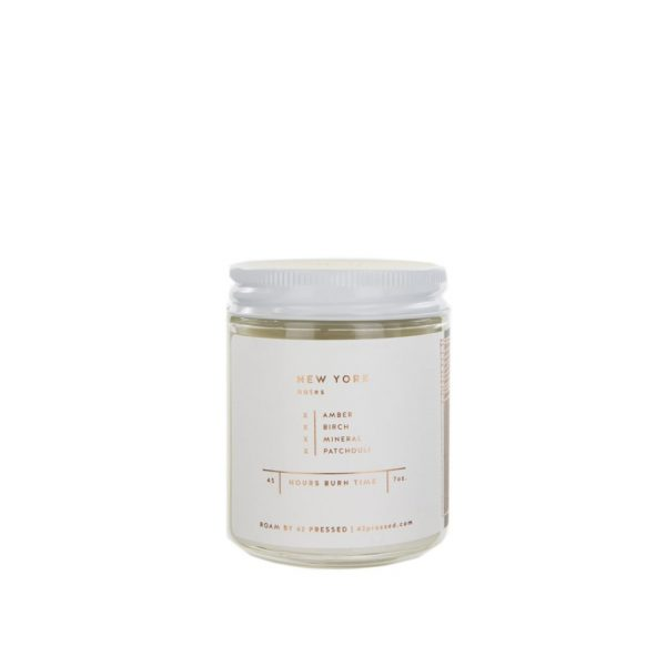New York Candle by ROAM by 42 Pressed