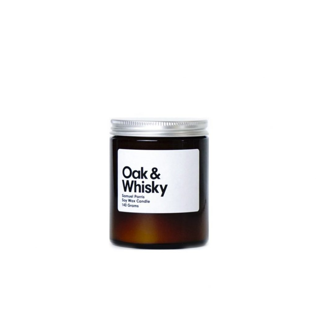 Oak & Whisky Candle by Samuel Parris