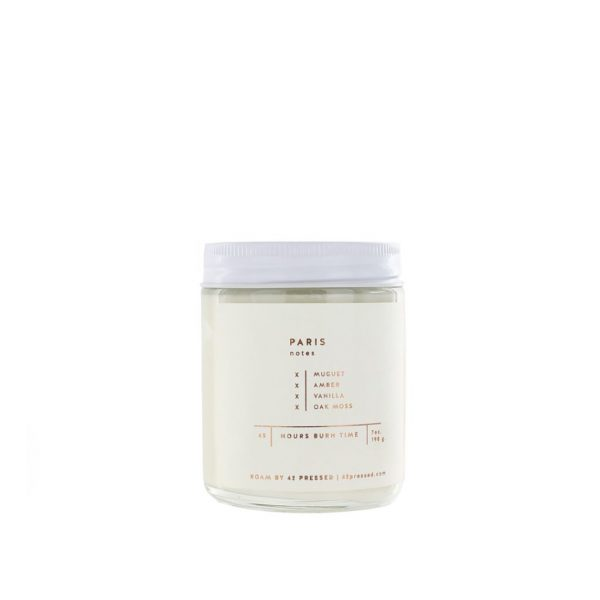 Paris Candle by ROAM by 42 Pressed