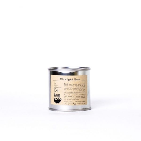 Midnight Mass Soy Candle by The Bearded Candle Makers