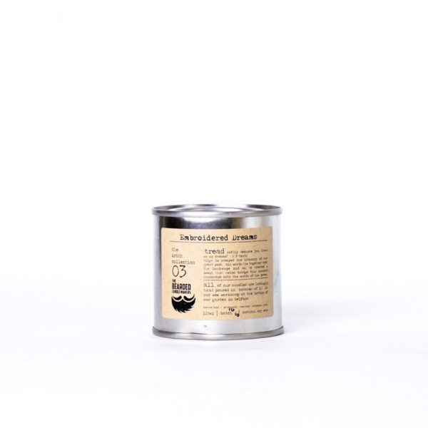 Embroidered Dreams Candle by The Bearded Candle Makers