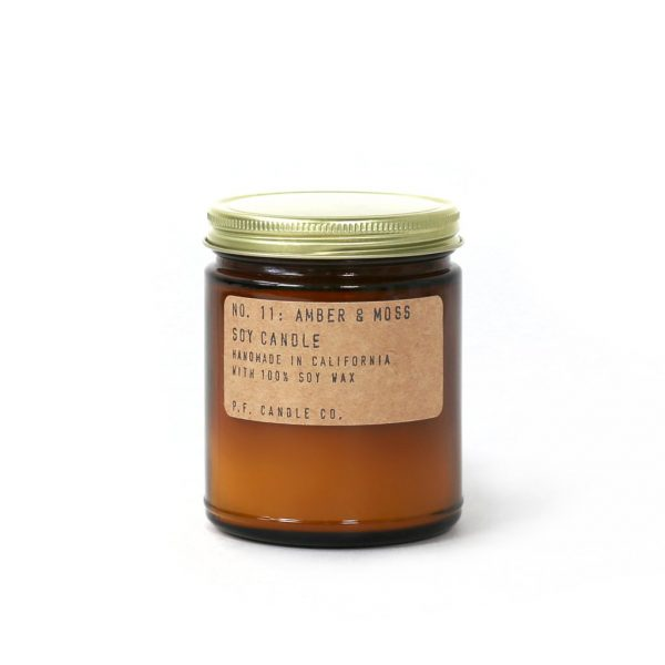 No.11 Amber & Moss Candle by P.F. Candle Co