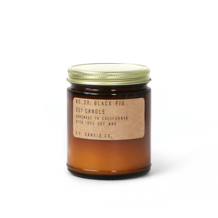 No.28 Black Fig Scented Candle by P.F. Candle Co