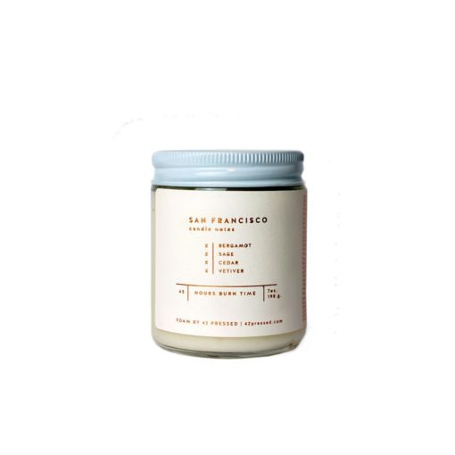 San Francisco Scented Candle by ROAM by 42 Pressed
