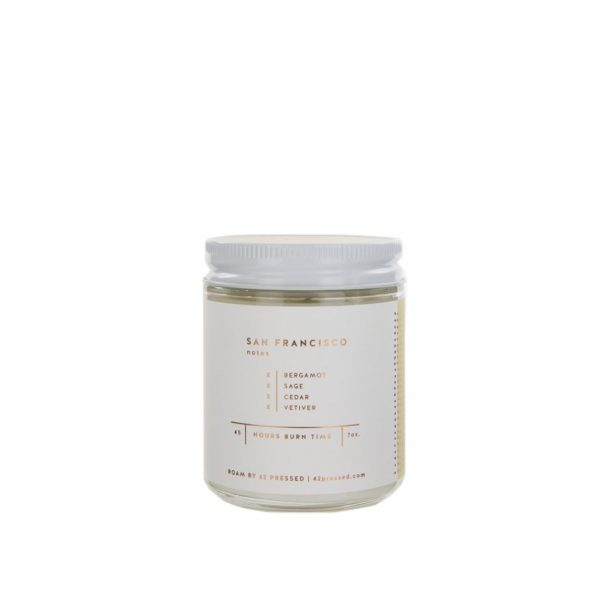 San Francisco Candle by ROAM by 42 Pressed