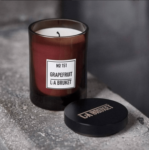 Grapefruit Candle by L:A Bruket