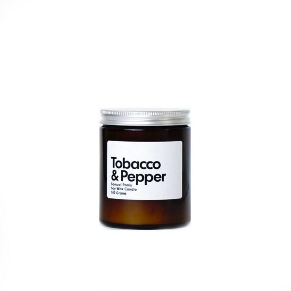 Tobacco & Pepper Candle by Samuel Parris