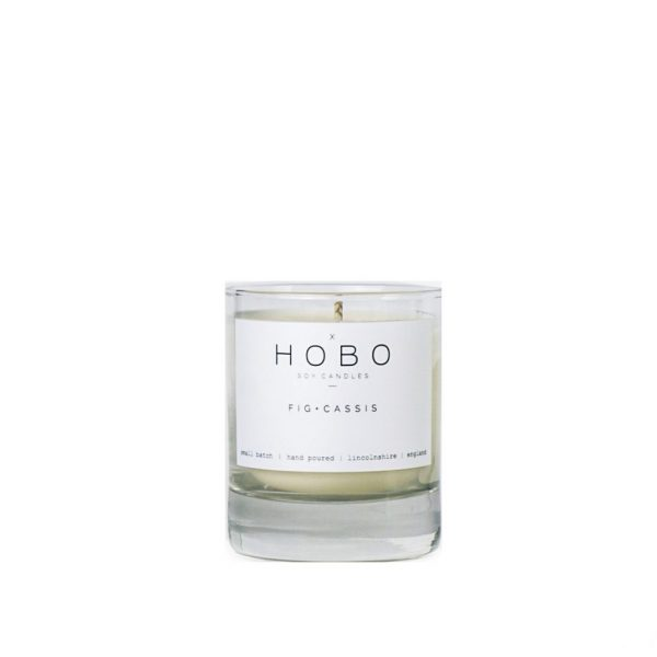 Fig & Cassis Candle by Hobo Soy Candles