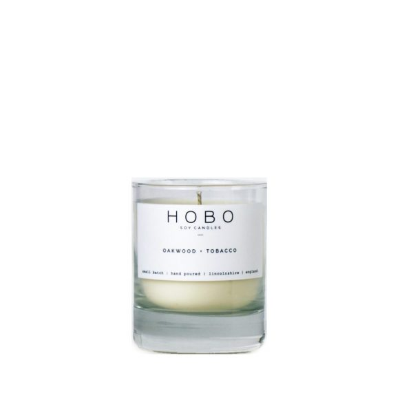 Oakwood & Tobacco Candle by Hobo Soy Candles