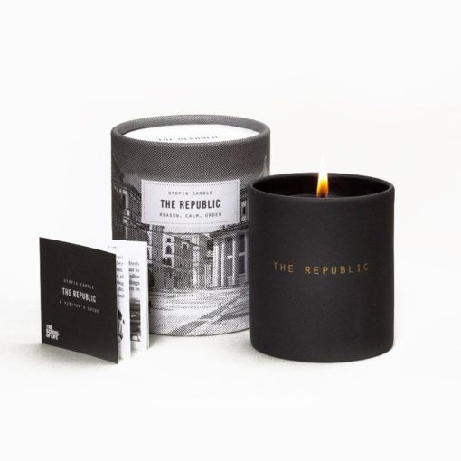 The Republic Utopia Candle by The School of Life