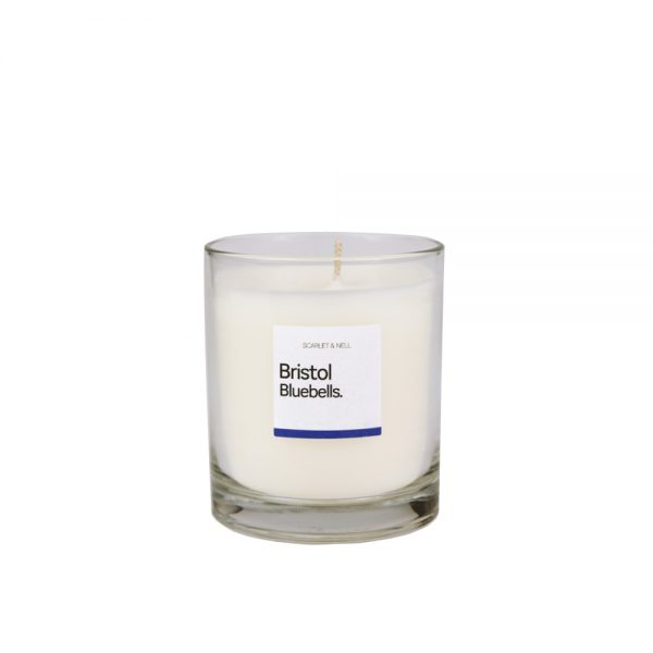 Bristol Bluebells Scented Candle by Scarlet & Nell