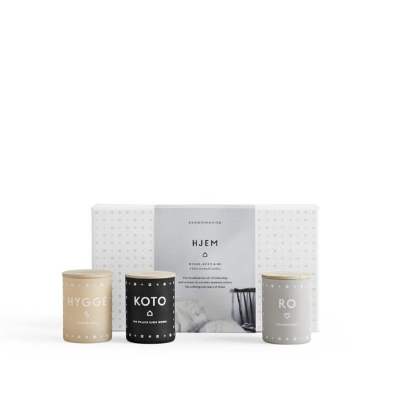 HJEM Mini Scented Candle Set by Skandinavisk