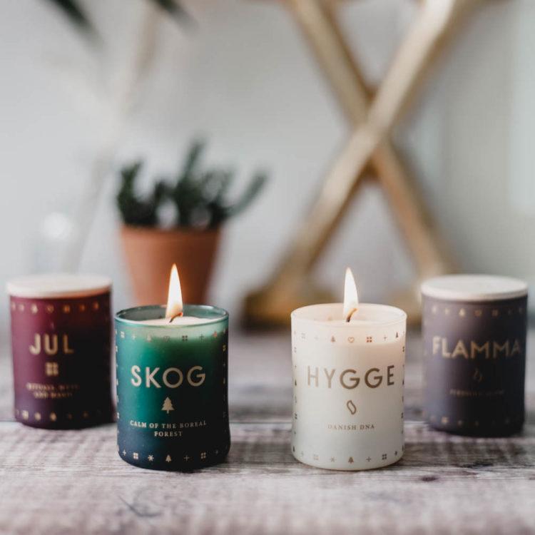 JUL (Christmas) Scented Candle Set by Skandinavisk