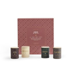 JUL (Christmas) Scented Candle Set by Skandinavisk