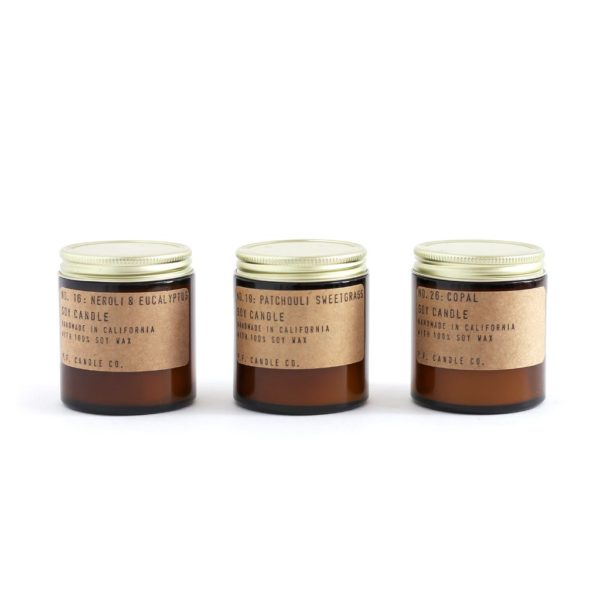 P.F. Good Vibes Scented Candle Set by P.F. Candle Co