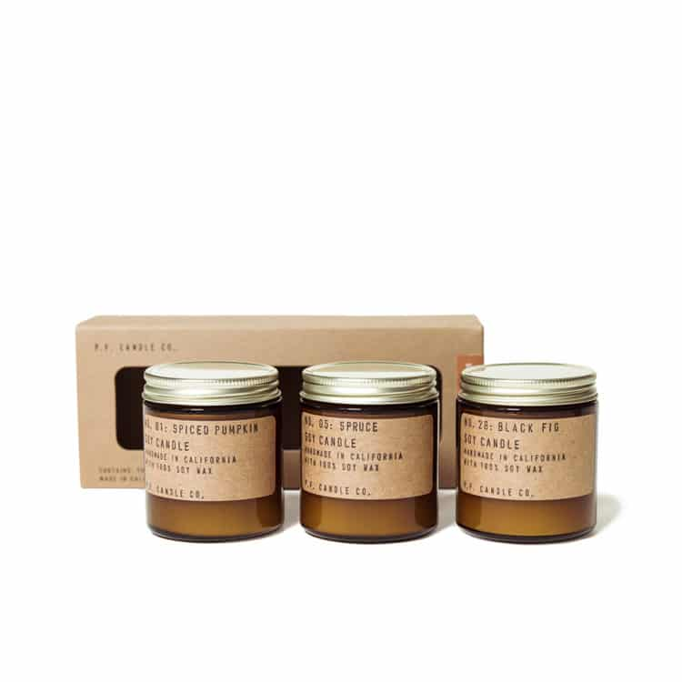 P.F. Seasonal Classics Scented Candle Set by P.F. Candle Co