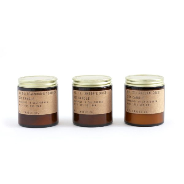 P.F. Essentials Scented Candle Gift Set by P.F. Candle Co