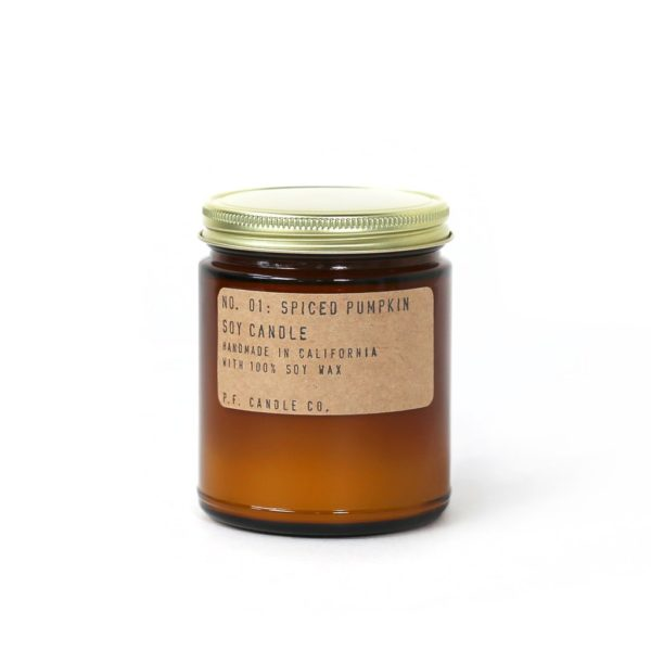 No.01 Spiced Pumpkin Scented Candle by P.F. Candle Co