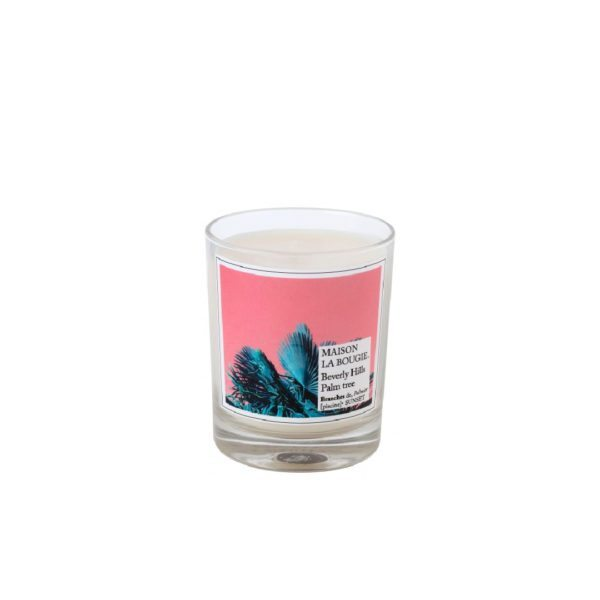 Beverly Hills Palm Tree Scented Candle by Maison La Bougie
