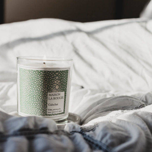 Galuchat Scented Candle by Maison La Bougie