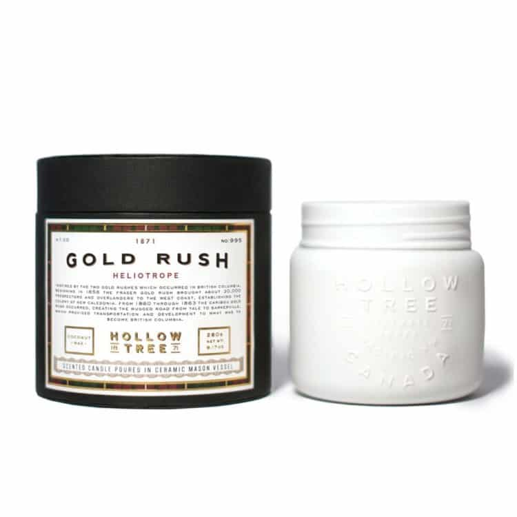 Gold Rush Scented Candle by Hollow Tree