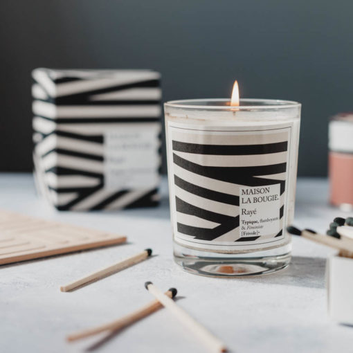 Rayé Scented Candle by Maison La Bougie