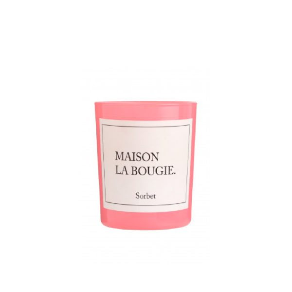 Sorbet Scented Candle by Maison La Bougie