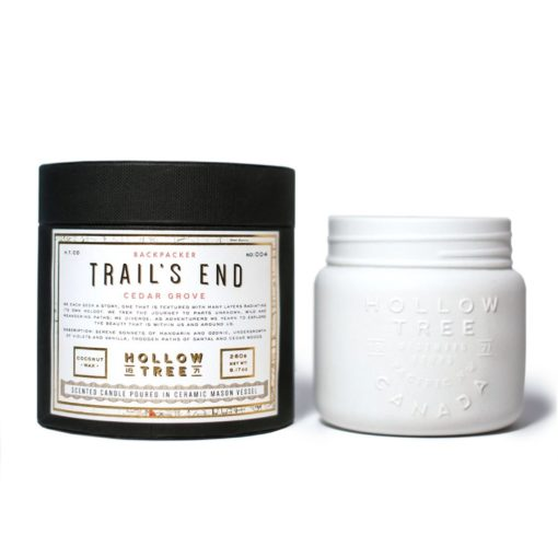 Trails End Scented Candle by Hollow Tree