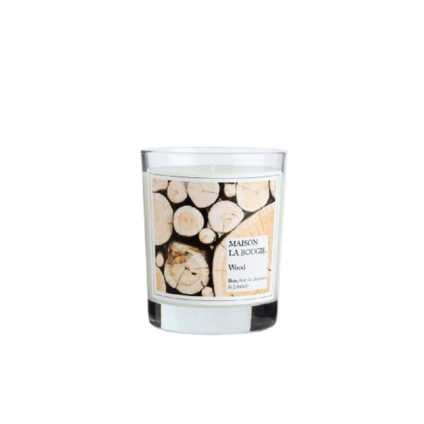 Wood Scented Candle by Maison La Bougie