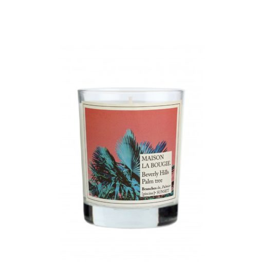 Beverly Hills Palm Tree Scented Candle by Maison La Bougie | Available at Osmology