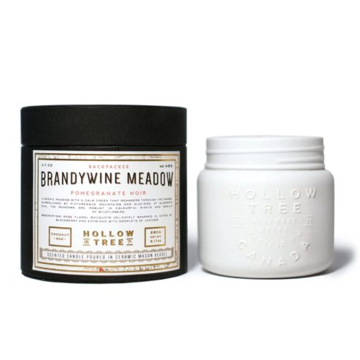 Brandywine Meadow Scented Candle by Hollow Tree
